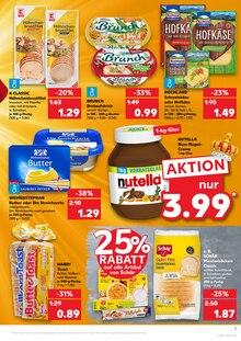 Butter im Kaufland Prospekt KÖNIGLICHE ANGEBOTE: HIER SPART JEDER! auf S. 2