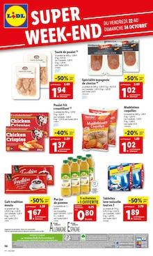 "Lidl Catalogue ""Superweek-end"", 1 page, Méricourt,  19/10/2021 - 26/10/2021"