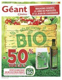 Catalogue Géant Casino en cours, Sélection Bio, Page 1