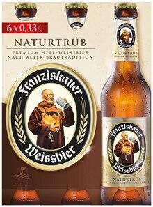 Bier von Franziskaner im aktuellen REWE Prospekt für 3.99€