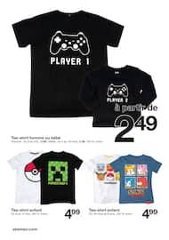 Catalogue Zeeman en cours, Cette semaine : Pokémon, Minecraft, Pac-Man et bien d'autres héros de jeux vidéo., Page 2