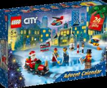 CALENDRIER DE L'AVENT LEGO CITY OU LEGO FRIENDS à Super U dans Charmes