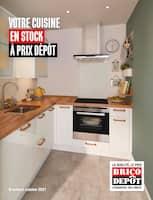 Catalogue Brico Dépôt en cours, Votre cuisine en stock à prix dépôt, Page 1