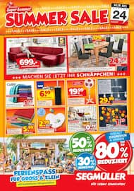 Aktueller Segmüller Prospekt, Segmüller: Summer Sale, Seite 1