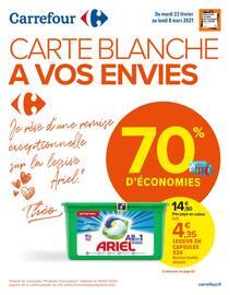 Catalogue Carrefour en cours, Carte blanche à vos envies, Page 1