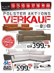 Seats and Sofas - Polster-Aktions-Verkauf
