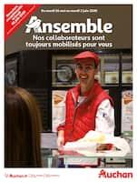 Catalogue Auchan en cours, Nos collaborateurs sont toujours mobilisés pour vous, Page 1