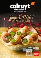Catalogue Colruyt en cours, Joyeux Noël ! Faites un vœu, Page 1