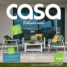 Catalogue Casa en cours, Relaxez-vous, Page 1