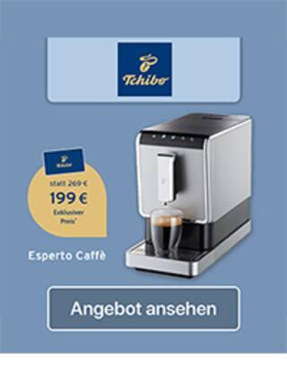 Aktueller Tchibo Prospekt, Esperto Caffè, Seite 1