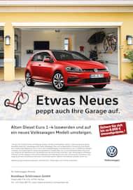 Aktueller Volkswagen Prospekt, Etwas Neues peppt auch Ihre Garage auf., Seite 1