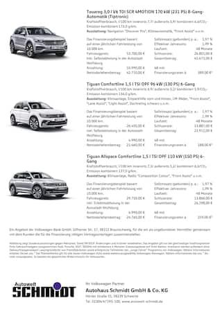 Aktueller Volkswagen Prospekt, Überall in ihrem Element - Auch beim Sparen, Seite 2