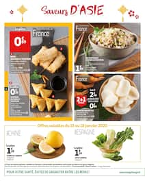 Catalogue Auchan en cours, Saveurs d'Asie, Page 2