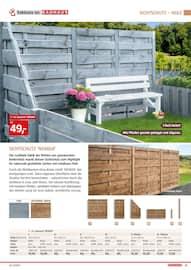 Aktueller BAUHAUS Prospekt, Gartengestaltung/Metallzaun, Seite 57