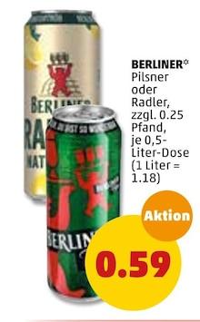 Alkoholische Getraenke im aktuellen Penny-Markt Prospekt für 0.59€