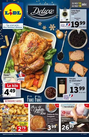 Catalogue Lidl en cours, Préparez vos fêtes avec Deluxe par Lidl, Page 1