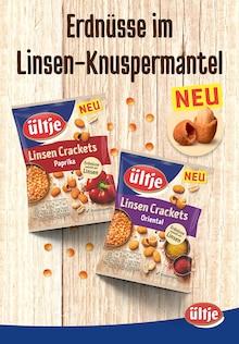 ültje Prospekt für Allmannsweiler b Bad Saulgau: Erdnüsse im Linsen-Knuspermantel, 4 Seiten, 21.10.2021 - 31.12.2021