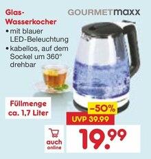 Wasserkocher im aktuellen Netto Marken-Discount Prospekt für 19.99€