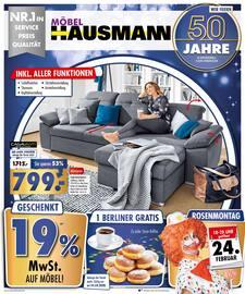 Aktueller Möbel Hausmann Prospekt, Aktuelle Angebote, Seite 1