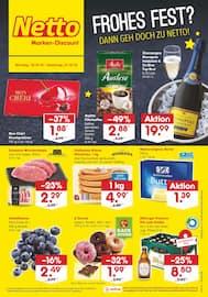 Aktueller Netto Marken-Discount Prospekt, Frohes Fest? Dann geh doch zu Netto!, Seite 1