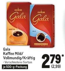Kaffee von Gala im aktuellen Metro Prospekt für 2.99€