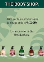 Catalogue The Body Shop en cours, Livraison offerte dès 30€ d'achats !, Page 1