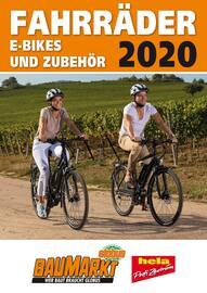 Aktueller Globus-Baumarkt Prospekt, FAHRRÄDER 2020, Seite 1