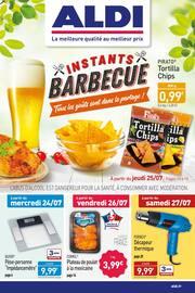 Catalogue Aldi en cours, INSTANTS BARBECUE Tous les goûts sont dans le partage !, Page 1