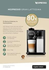 Aktueller NESPRESSO Prospekt, EINLADUNG zu einem NESPRESSO Kaffee, Seite 8
