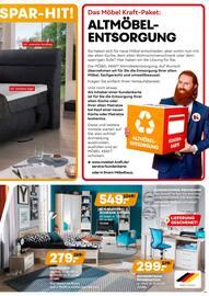Aktueller Möbel Kraft Prospekt, Kraft-Spar-Wochen, Seite 19
