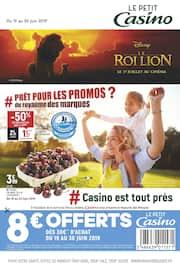 Catalogue Petit Casino en cours, # Prêt pour les promos du royaume des marques ?, Page 1