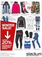 Aktueller Stadium Prospekt, Winter Sale!, Seite 1