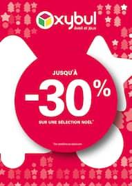 Catalogue Oxybul en cours, Jusqu'à -30% sur une sélection Noël*, Page 1