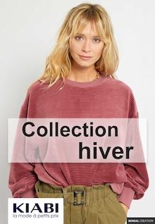 "Kiabi Catalogue ""Collection Hiver"", 11 pages, Allineuc,  22/10/2021 - 27/11/2021"