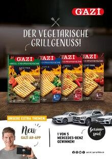 GAZI Prospekt Der vegetarische Grillgenuss!