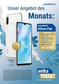 Aktueller aetka Prospekt, Unser Angebot des Monats: aetkaSMART Allnet Flat, Seite 1