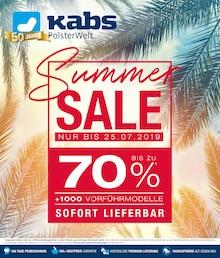Kabs Polsterwelt, SUMMER SALE für Hamburg1