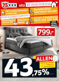 Aktueller XXXLutz Möbelhäuser Prospekt, Wir sind weiter für Sie da!, Seite 1
