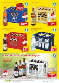 Aktueller Netto Getränke-Markt Prospekt, Flasche leer? Mehrweg voll günstig bei Netto nachkaufen!, Seite 2