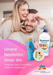 dm-drogerie markt Prospekt mit  Seite (Augsburg)