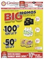 Catalogue Casino Supermarchés en cours, Big promos, Page 1
