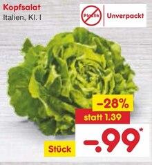 Lebensmittel im aktuellen Netto Marken-Discount Prospekt für 0.99€