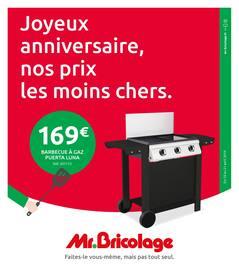 Catalogue Mr Bricolage en cours, Joyeux anniversaire, nos prix les moins chers., Page 1