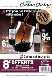 Catalogue Petit Casino en cours, # Prêt pour des promos millésimées ?, Page 1
