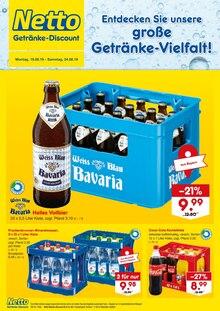 Netto Getränke-Markt, ENTDECKEN SIE UNSERE GROSSE GETRÄNKE-VIELFALT! für Alteglofsheim