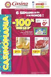 Catalogue Casino Supermarchés en cours, 6 semaines de fête et de promos !, Page 1