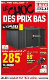 Catalogue Brico Dépôt en cours, Le choc des prix bas, Page 1