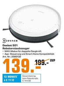 Elektronik von ECOVACS im aktuellen Saturn Prospekt für 139€