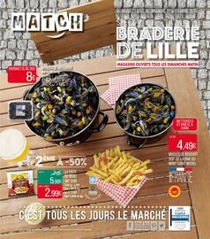 Catalogue Supermarchés Match en cours, Spécial Braderie de Lille, Page 1