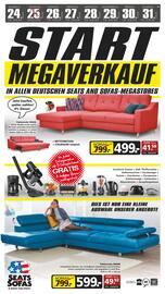 Aktueller Seats and Sofas Prospekt, Start Megaverkauf, Seite 1